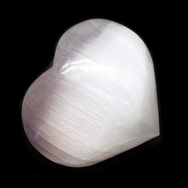 Selenite Heart-113961