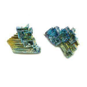 Bismuth Specimen Pair-0