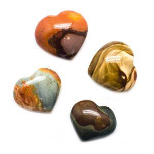Polychrome Jasper Heart-116554
