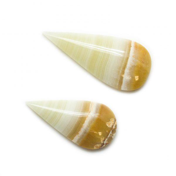 Dendritic Opal Cabochon Set-123091