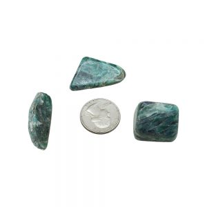 Green Kyanite Tumbled Set (Extra large)-212958