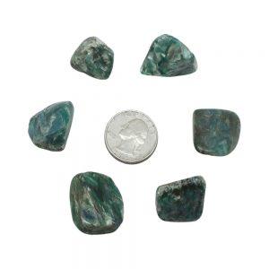 Green Kyanite Tumbled Set (Large)-0