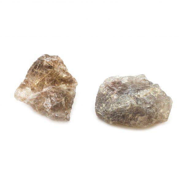 Rutilated Quartz Crystal Pair-0