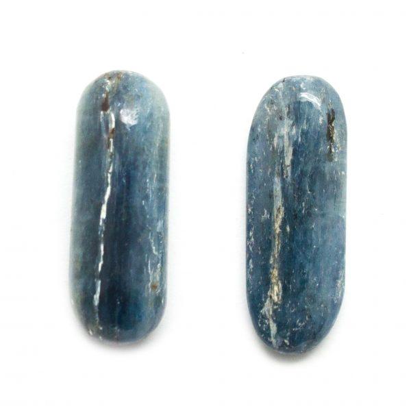 Blue Kyanite Tumbled Stone Pair (Medium)-0