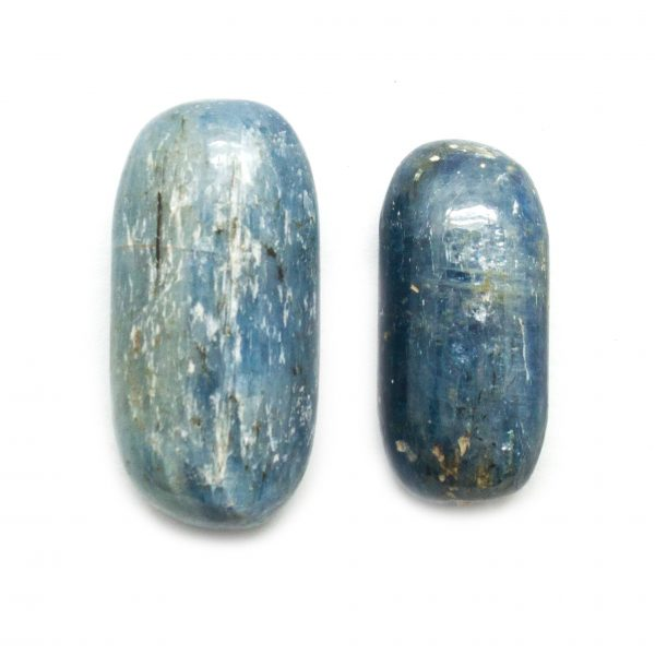 Blue Kyanite Tumbled Stone Pair (Medium)-120556