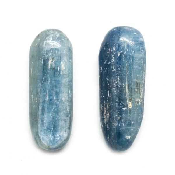 Blue Kyanite Tumbled Stone Pair (Medium)-120555