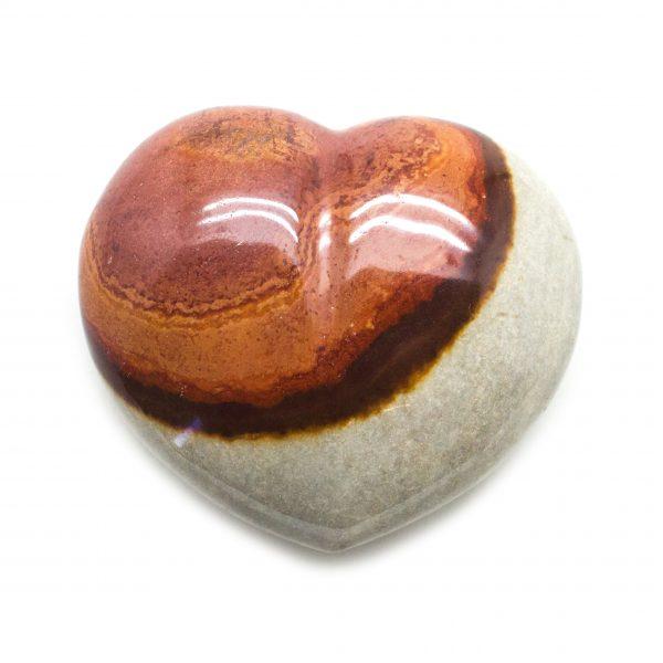 Desert Jasper Heart-0