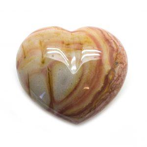 Desert Jasper Heart-121823