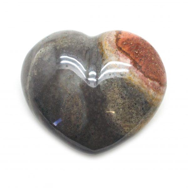Desert Jasper Heart-121821