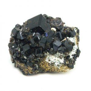 Grossular Garnet Cluster-0