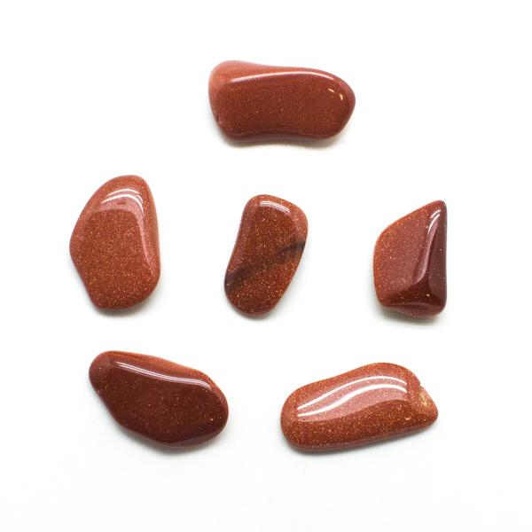 Goldstone Tumbled Stone Set (Small)-131903