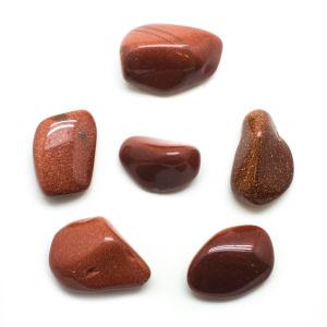 Goldstone Tumbled Stone Set (Extra Large)-0