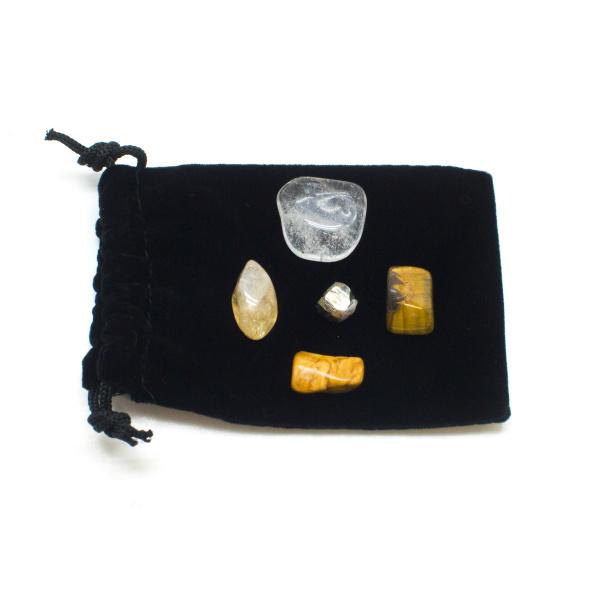 Solar Plexus Chakra Crystal Kit-0