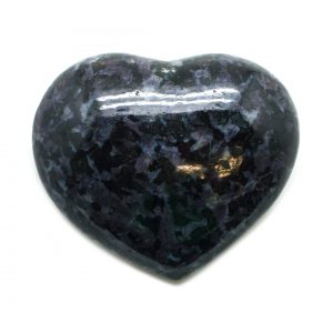 Indigo Gabbro Heart (Medium)-0