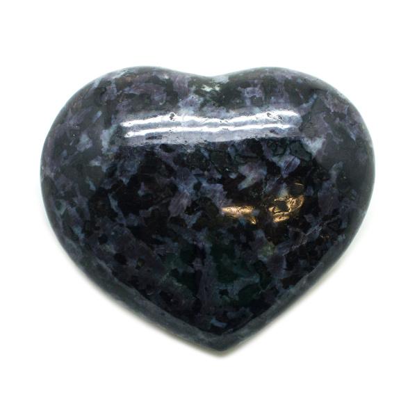 Indigo Gabbro Heart (Medium)-0