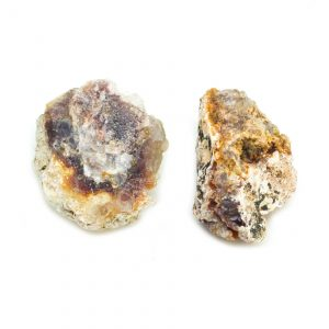 Rough Fire Agate Pair (Extra Large)-0