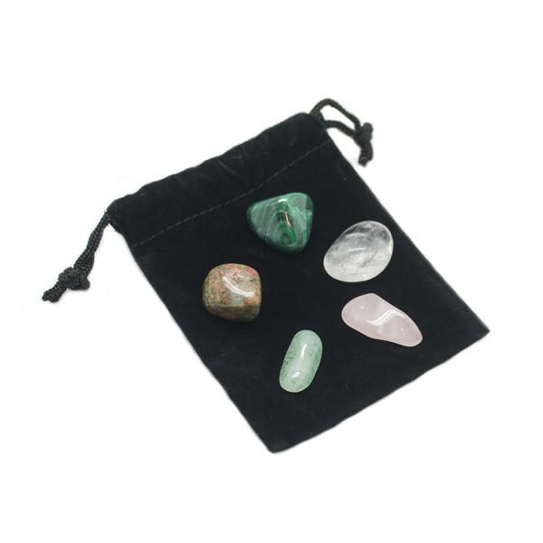 Heart Chakra Balancing Crystal Kit-0