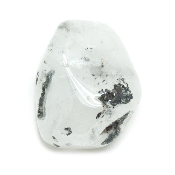 Quartz with Black Inclusions Aura Stone-136175