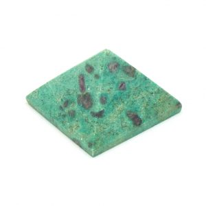 Ruby and Fuchsite Pyramid -0
