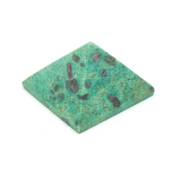 Ruby and Fuchsite Pyramid -0