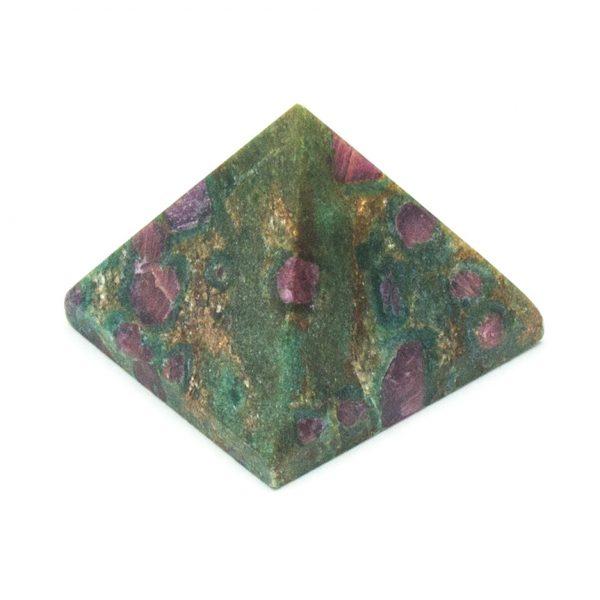 Ruby and Fuchsite Pyramid -135088