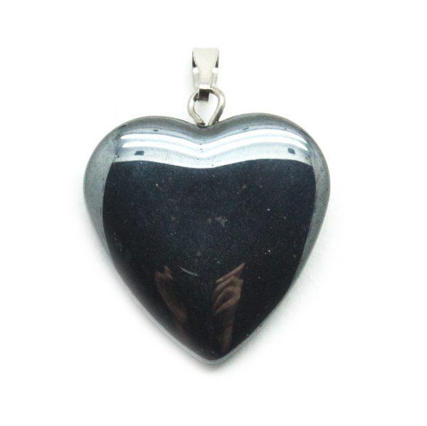 Hematite Heart Pendant-138771