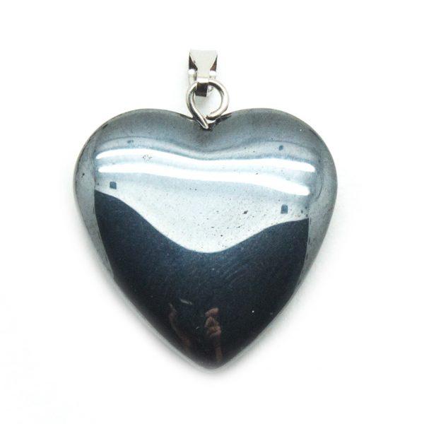 Hematite Heart Pendant-138773