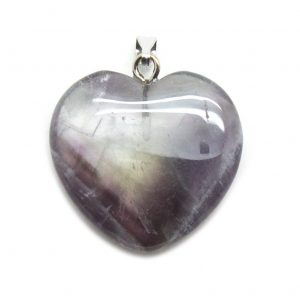 Amethyst Heart Pendant-138791