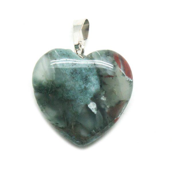 Bloodstone Heart Pendant-138808