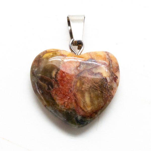 Bloodstone Heart Pendant-207307