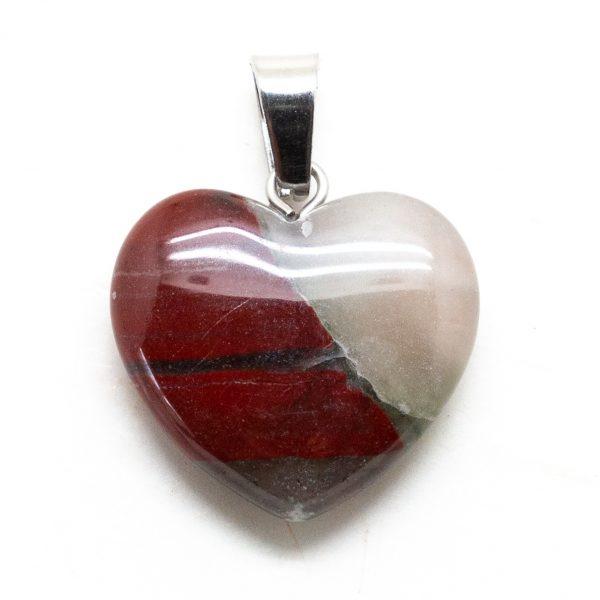 Bloodstone Heart Pendant-207309