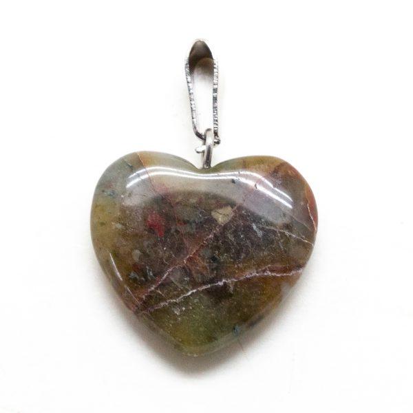 Bloodstone Heart Pendant-207308