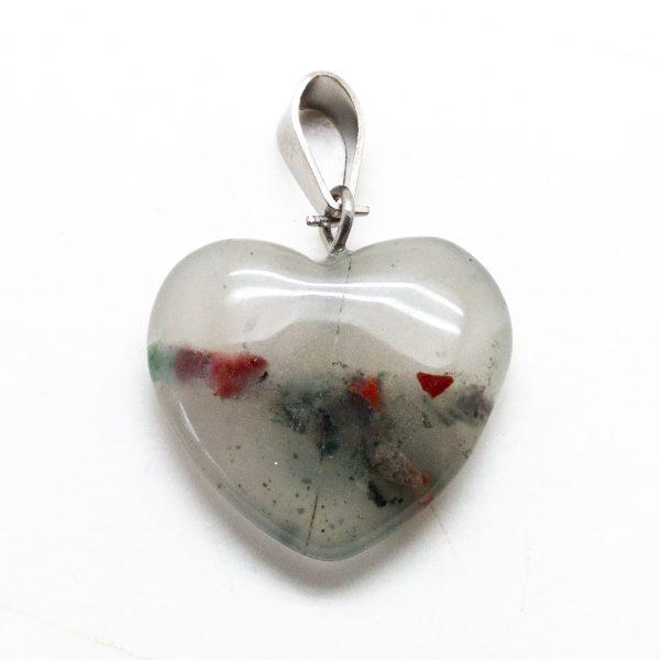 Bloodstone Heart Pendant-207311