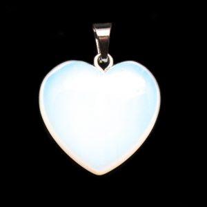 Opalite Heart Pendant-0
