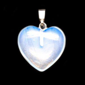 Opalite Heart Pendant-138821