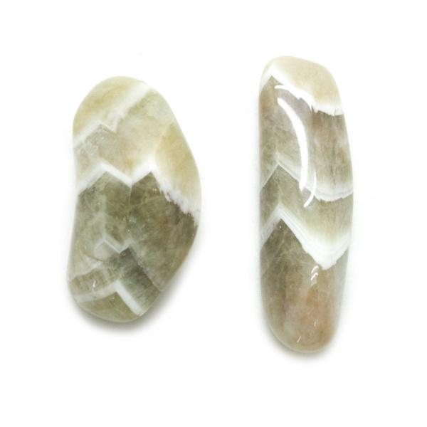 Prasiolite Aura Stone Pair (Small)-138003