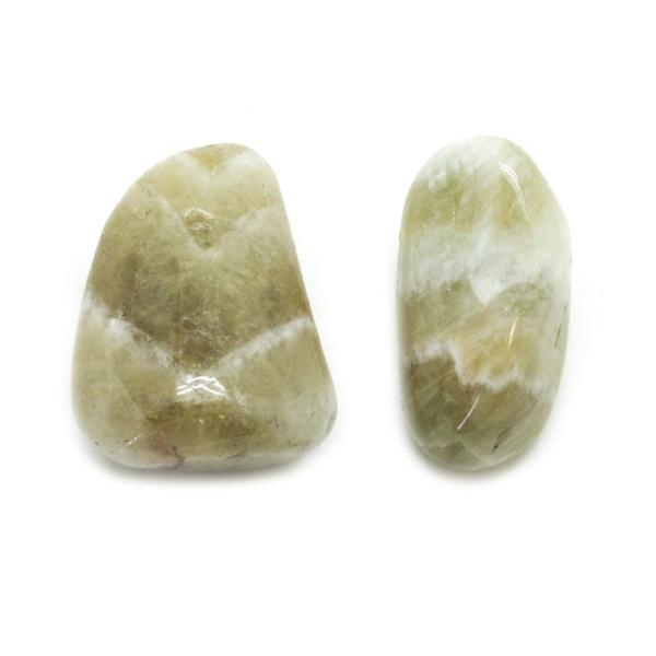 Prasiolite Aura Stone Pair (Small)-138004