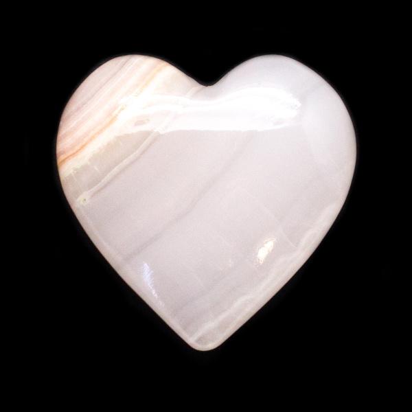 Light Pink Calcite Heart-0