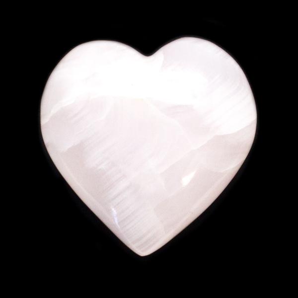 Light Pink Calcite Heart-139983