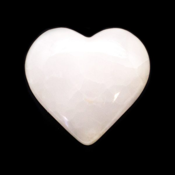 Light Pink Calcite Heart-139985