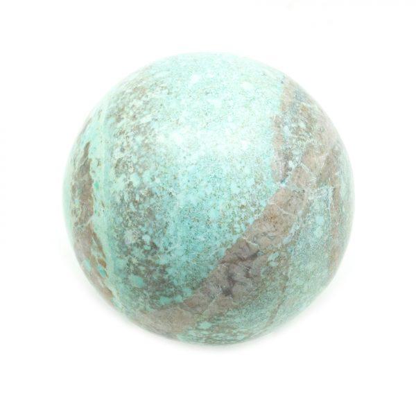 Chrysocolla Sphere (40-50 mm)-139552