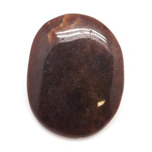 Hessonite Palm Stone-0