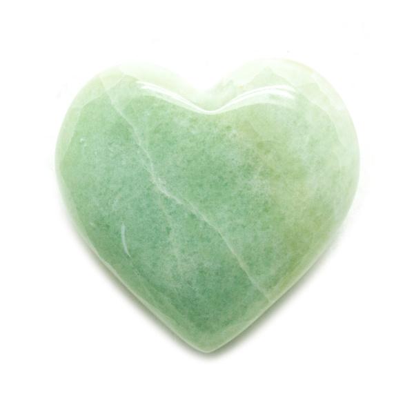 Pistachio Calcite Heart -139808