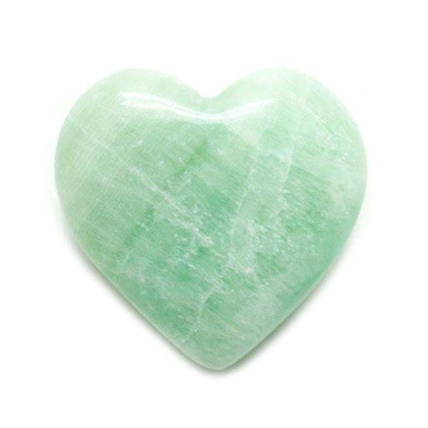 Pistachio Calcite Heart -139807