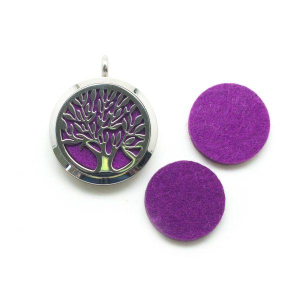 Tree of Life Aromatherapy Pendant-0