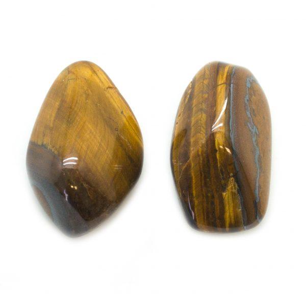 Tiger's Eye Aura Stone Pair (Small)-141647