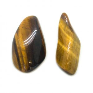 Tiger's Eye Aura Stone Pair (Small)-141645