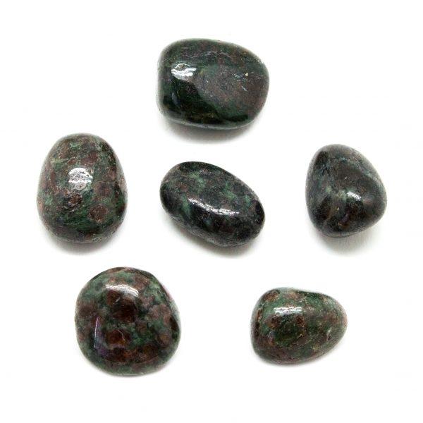 Eclogite Tumbled Stone Set (Large)-0