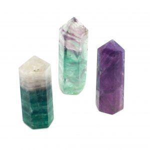 Polished Fluorite Point-0