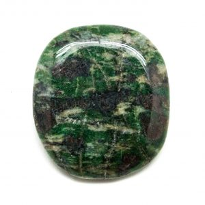 Eclogite Palm Stone (Medium)-0